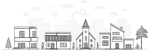 Townscape graphic