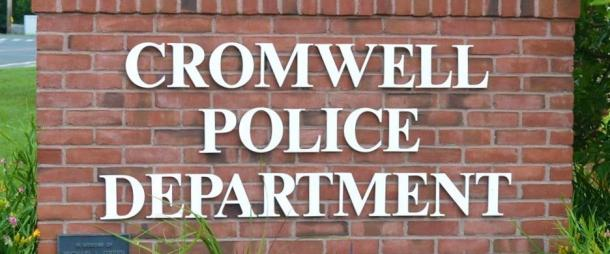 Cromwell Police Department Sign