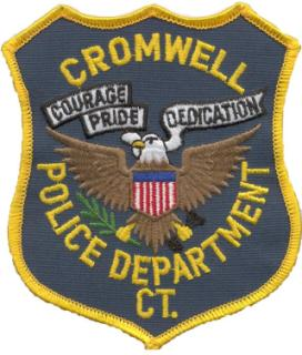 Cromwell Police Badge